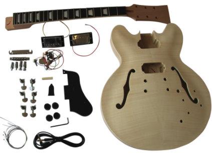 GD230 Coban ES Mahogany Hollow body kit